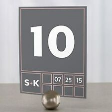 Personalized Times Square Wedding Table Numbers
