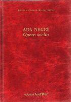 Poesia - Ada Negri Opere scelte - Lodigraf 1988 / Acquaforte di Vittorio Vailati