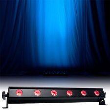 American DJ ADJ ULTRA BAR 6 Lampade Parete Rondella 3 W TRI LED x 6
