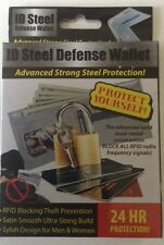 PREMIER® STEEL DEFENSE WALLET, IDENTITY THEFT PROTECTION