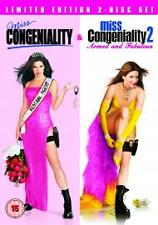 MISS CONGENIALITY & MISS CONGENIALITY 2 GENUINE R2 DVD DOUBLE FEATURE NEW/SEALED