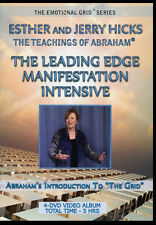 Abraham-Hicks Esther 4 DVDs The Leading Edge Manifestation Intensive - NEW