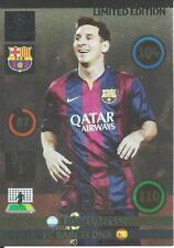2014-15 Panini Adrenalyn Lionel Messi $4.95 tarjeta de edición limitada