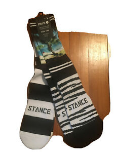 NWT Stance casual crew socks, men's L, multi color, 2 pack, cotton blend💥💥