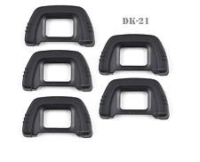 Lot 5 Rubber EyeCup Eyepiece DK-21 For NIKON D7000 D300 D70s D80 D90 D100 D50