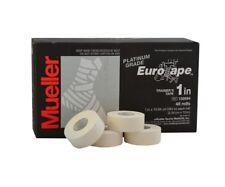 4 Rollen Mueller Platinum Grade Eurotape Sporttape Weiß 2,54 cm  x 10 m Sport