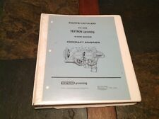 Textron Lycoming PC-302 Parts Catalog for O-235 Series Aircraft Engines