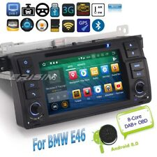 BMW E46 Autoradio Android 8.0 3 Series M3 MG ZT Rover 75 GPS DAB+OBD TV BT 5862F