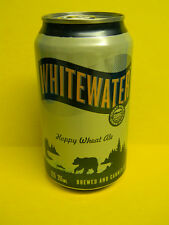 NEW CRAFT WHITEWATER WHEAT ALE BLACK BEAR BEER CAN GREAT DIVIDE DENVER COLORADO