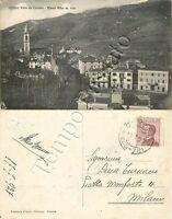 Cartolina di Ottone, panorama e Monte Alfeo - Piacenza, 1927