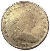1799 Draped Bust Silver Dollar $1 - Fine Details - Rare Type Coin!