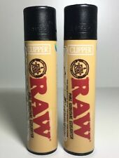Official & Rare RAW Clipper Lighter UK x 2