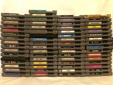 Nintendo NES Game Lot (65 Games) RC Pro-AM II, Zelda, Kirby, Mario, & More