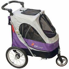 PETSTRO SAFARI / Aventura Pet Stroller Lila Grau 702GX-PR