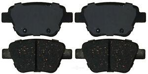 Disc Brake Pad Set-Ceramic Disc Brake Pad Rear ACDelco Pro Brakes 17D1456C
