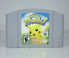Hey You, Pikachu (Nintendo 64, 2000) N64 Cartridge Only Authentic Tested Works