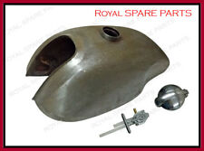 Yamaha SR500 Manx Style Raw Gas Fuel Petrol Tank With Monza Cap & Tap