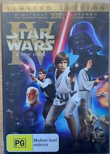 STAR WARS IV: A NEW HOPE 2 x DVD 1977 Original Theatrical & Remastered Edition