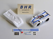 BHR Porsche 917 PA Can Am Body Kit, TRIMMED; HO AFX Tyco, White .020