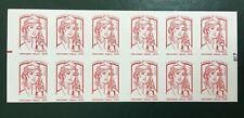 Carnet timbres neuf repère électronique 2017 YT 1214-C11 Marianne Ciappa.