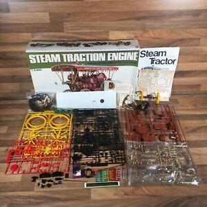 Bandai Steam Traction Engine Garrett 1919 1:16 Model Kit Parts May Be Missing