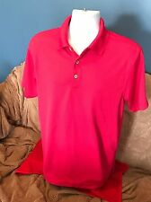 Cubavera Polo Pink M Shirt men's great for summer or a cuise