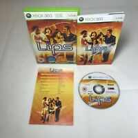 Lips Xbox 360 Microsoft UK PAL Fast Free Shipping