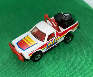 Matchbox White Ruff Trek 1977 Pick-Up Truck Vintage Nice
