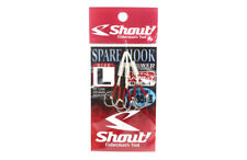 Shout 83-SH Spare Hook for Madai Rubber Jig Iseama Hook Size L ( 1 ) (6870)