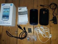 SAMSUNG GALAXY SIII MINI SMART PHONE *UNLOCKED* VG CONDITION WITH EXTRAS
