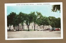 Madison,WI Wisconsin United States Post Office, 1940's cars