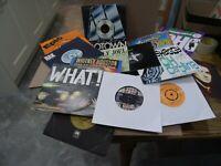 "NICE JOB LOT 200 x 1970/80s 45rpm 7"" vinyl QUEEN, ABBA, STEVIE WONDER, BOWIE etc"