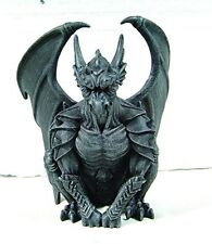 6.25 Gargoyle Guardian Statue With Wings Cold Cast Resin Figurine