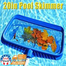 Swimming Pool Leaf Skimmer Rake Mesh Net Deep Bag Hot Tub Spa Pond Cleaning Tool