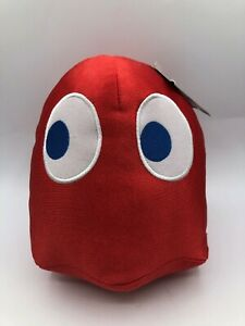 Pacman Red Ghost Shiny Blinky Bandai Namco Plush Kids Soft Stuffed Toy Animal