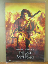 Vintage 1992 The Last of the Mohicans poster Daniel Day-Lewis movie  5208