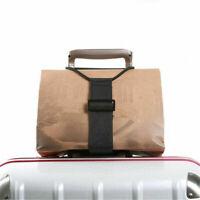 Travel Luggage Bag Backpack Carrier Strap Suitcase Belt Easy to Carry Adjustable