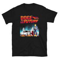 Funny Dogecoin To Moon Doge Coin HODL Crypto Short-Sleeve Unisex T-Shirt