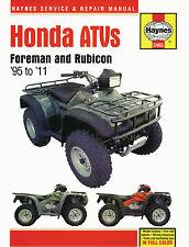 2465 Haynes Honda ATVs Foreman & Rubicon (1995 - 2011) Workshop Manual