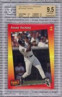 FRANK THOMAS 1992 Triple Play Previews #6 Graded BGS 9.5 GEM MINT White Sox HOF