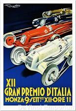 XII Gran Premio D'Italia Poster Fine Art Lithograph Hand Pulled Pliny Codognato