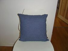 African Shwe Shwe Indigo/Denim fabric cushion