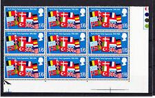 Gran Bretaña 1969 1/6 D Anniv. con sombra Variedad r18/6 Espec. w157e Mnh.