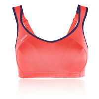 Shock Absorber Active Multi Womens Racerback Pink Sports Bra Support Top