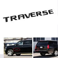 1x OEM TRAVERSE Emblem Letters Badge 3D logo for Chevrolet Y1 Black 20896270