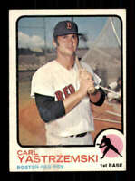 1973 Topps #245 Carl Yastrzemski VG/VGEX Red Sox 403606