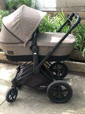 Cybex Priam 2-in-1 Trekking Stroller - Matte Black/Desert Khaki