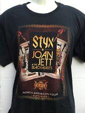 Styx Joan Jett & the Blackhearts Tesla U.S.Summer Tour 2018 t Shirt sz XL NWOT