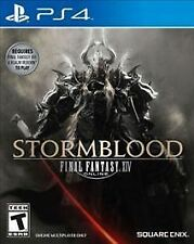 NEW Final Fantasy XIV: Stormblood Expansion Pack (Sony PlayStation 4, 2017)