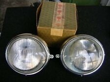 VOLKSWAGEN BUS HEADLIGHTS HEAD LIGHT ASSEMBLY T1 BUS SAMBA VW BOSCH NOS